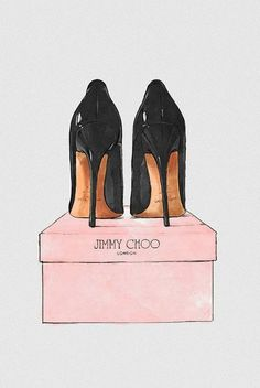 Add Jimmy Choo-inspired design to your walls with this framed wall art by Oliver Gal. Featuring an illustrated shoes design, it looks perfect leant against t. Jimmy Choo, Megan Hess, Shoe Art, Art Shoes, Oliver Gal, Fashion Sketches, Fashion Illustrations, Illustration Fashion, Shoe Sketches