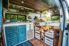 Love this campervan conversion!