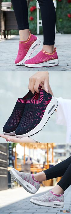 US$29.99+Free shipping. Size(US): 5~9. Color: Black, Dark Blue, Rose, Gray. Upper Material: Mesh. Fall in love with casual and sport style! Summer Sandals, Women Flat Sandals, shoes flats, shoes sandals, Casual, Outdoor, Comfortable.