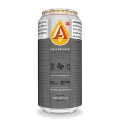 Industrial Beercan Packaging – Austin Beerworks | dailybri