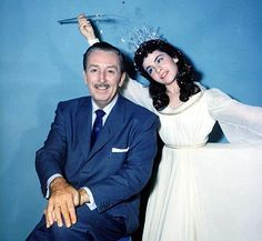 Walt Disney and Annette Funicello. Gone, but never forgotten.