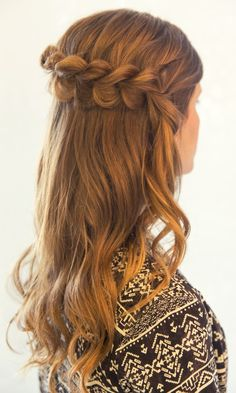 Pull Through Dutch Braid. Inspired by L'Oreal Advanced Hairstyle