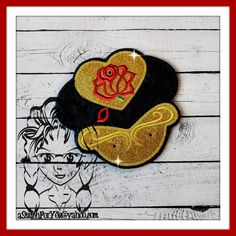 Bell Princess to the Beast ~ Pin Lanyard Display Mouse HeaD Trader ~ ITH Mr Miss Mouse Inspired Photo Prop ~ INSTANT Download Design by Carrie aStitchForYou on FB & Etsy