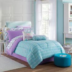 Claudette Comforter Set in Purple/Blue - BedBathandBeyond.ca