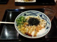 とろろうどん  @丸亀製麺