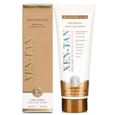 This is my all time fav self tanner!!!  The Luxe is a daily buildable lotion.  Smells good and turns brown and not Oompha Loompa Orange!