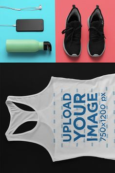 Need the perfect tank top mockup to showcase your latest design or logo? Placeit has an awesome range of racerback tank top mockups that you'll love. White Tank, Black Tank Tops, Womens Slippers, Ladies Slippers, Women's Shooting, Tank Top Outfits, Racerback Tank Top, Tank Man, Mockup Generator