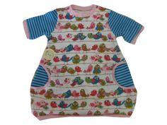 AprilSchrill Tunika - Ballontunika Gr. 98 von Me Kinderkleidung auf DaWanda.com