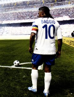 Roberto Baggio - I liked his style of playing.