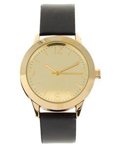 Enlarge ASOS Black Patent Watch