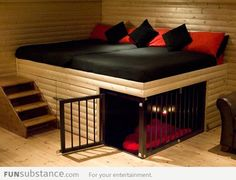 Awesome Built-In Dog Bed... - FunSubstance