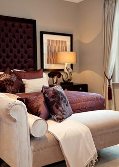 How To Decorate Your Bedroom With Marsala: 20 Ideas | DigsDigs