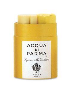 Colonia Bath Soap by Acqua di Parma at Neiman Marcus. I'm lovin' this soap right now at The Rittenhouse in Philadelphia. Luxury bath product!