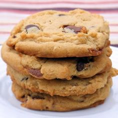 Peanut butter chocolate chip snickers cookies. I think my husband would love me even more if I made these.