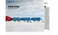 The British Antarctic Survey's new research station.  Wallpaper: May 2013 |