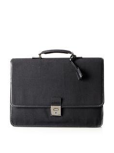 Fendi Men's Lock Briefcase at MYHABIT