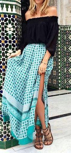 Lanie Lane Skirt cute maxi skirt from Princess Polly