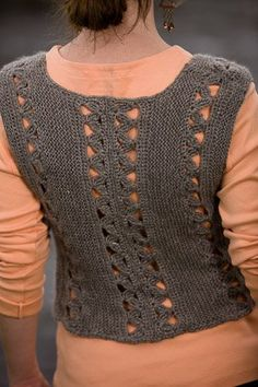 Oak Leaf Vest - Media - Crochet Me