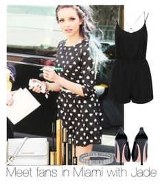 """""""Meet Fans In Miami With Jade"""" by hazzgirl03 ❤ liked on Polyvore"""
