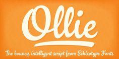 Ollie™ - Webfont & Desktop font « MyFonts