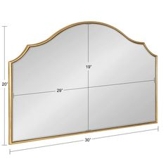 Leanna Framed Arch Wall Mirror – kateandlaurel Arch Mirror, Wall Mirror, Wedding Mirror, Mirror Shapes, Moroccan Design, Small Space Living, Beautiful Wall, Living Room Sofa, Home Decor Outlet