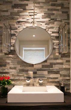 25 modern powder room design ideas | half bathroom ideas