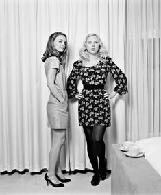 Natalie Portman & Scarlett Johansson