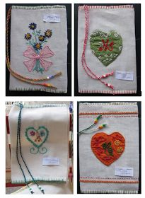 Elisabetta hand embroidery: The grest of Sister Veronica, Summer 2012