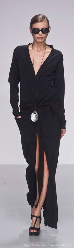 Maxi cardigan? Looks elegant and comfy....Daks SS2014