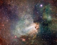 Sculpted by stellar winds and radiation, the star factory known as Messier 17 lies some 5,500 light-years away in the nebula-rich constellation Sagittarius