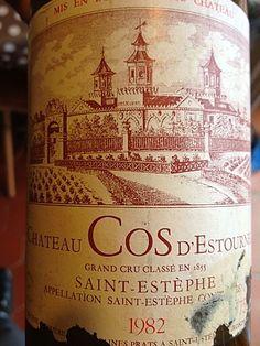 Château Cos d'Estournel 1982, Saint Estephe, Bordeaux, France