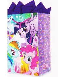 Resultado de imagen para dulceros en papel crepe para niñas de las my little pony girls