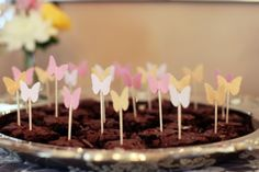 Sweet Butterfly 1st Birthday - Kara's Party Ideas - The Place for All Things Party
