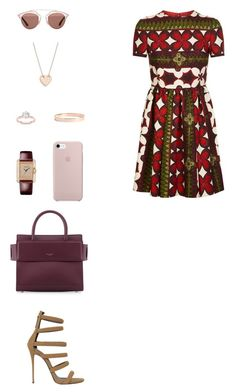 """House of Madalani"" by houseofmadalani on Polyvore featuring Valentino, Giuseppe Zanotti, Christian Dior, Givenchy, Cartier, Lana Jewelry and Ginette NY"