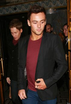 Tom was recently spotted out having dinner with his boyfriend, Dustin Lance Black
