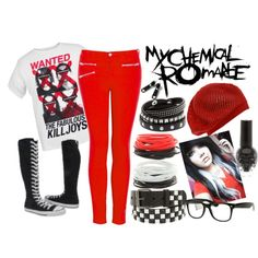"""""""My Chemical ROMANCE!"""" by wolfi101 on Polyvore"""