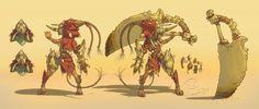 ArtStation - D&D Dark Sun Character, Rich Carey