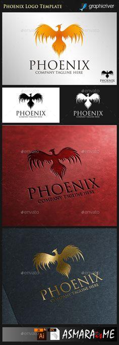 Phoenix - Fire Bird Logo