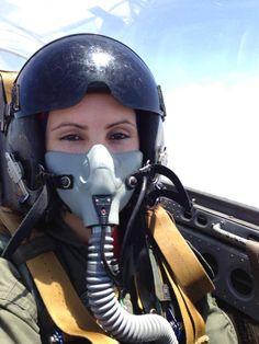 Female Pilot in Oxygen Mask Jet Fighter Pilot, Air Fighter, Female Fighter, Fighter Jets, Female Pilot, Female Soldier, Gas Mask Girl, Oxygen Mask, American Veterans