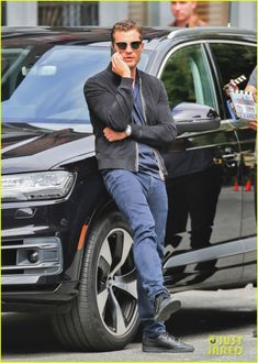 Jamie Dornan Continues Work on the 'Fifty Shades' Franchise: Photo #3688369. Jamie Dornan takes a break in between scenes on the set of an upcoming film in the Fifty Shades franchise on Tuesday afternoon (June 21) in Vancouver, Canada.  …