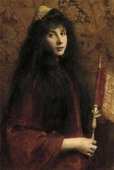 Cecil van Haanen ~ 'Portrait of a Jewish Girl'