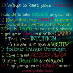 10 ways to keep your power
