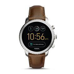 online shopping for Fossil Gen 3 Smartwatch - Q Explorist Luggage Leather from top store. See new offer for Fossil Gen 3 Smartwatch - Q Explorist Luggage Leather Herren Chronograph, Fossil Watches For Men, Vintage Watches For Men, Cool Watches, Guy Watches, Sport Watches, Ladies Watches, Cheap Watches, Smartwatch