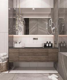 Ванная комната+постирочная.  Листайте ➡️➡️➡️ Дизайн-проект для молодой пары♥️