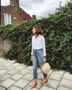 "835 Me gusta, 7 comentarios - Marta | Buganvilia (@buganviliaevents) en Instagram: ""Que rollazo, como mola #outfit #style #details #whiteandjeans #summeroutfit #inspiration…"""