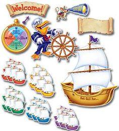 Set For Sail VBS Bulletin Board Set