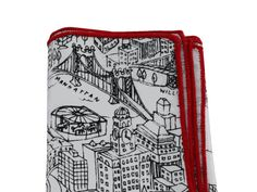 NYC Map Cotton Handkerchief