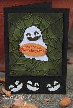 Geist Ghost Halloween Fall Fest #halloween #stampinup Kreativstanz – Stampin' Up!      http://kreativstanz.bastelblogs.de