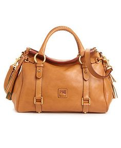 Dooney & Bourke Handbag, Florentine Vachetta Small Satchel - Handbags & Accessories - Macy's