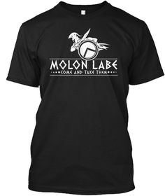 Molon Labe Spartan Come And Take Them T-Shirt & Hoodie. Multiple Colors Available.